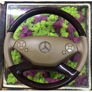 Руль с подушкой для Mercedes 221 (рестайлинг)